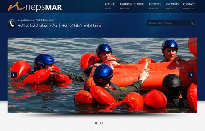 Nepsmar - Siteweb